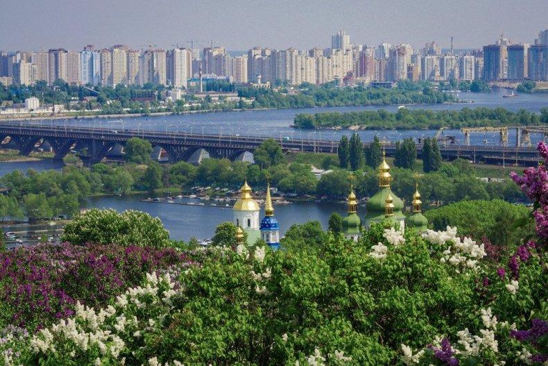 Киев древний и современный