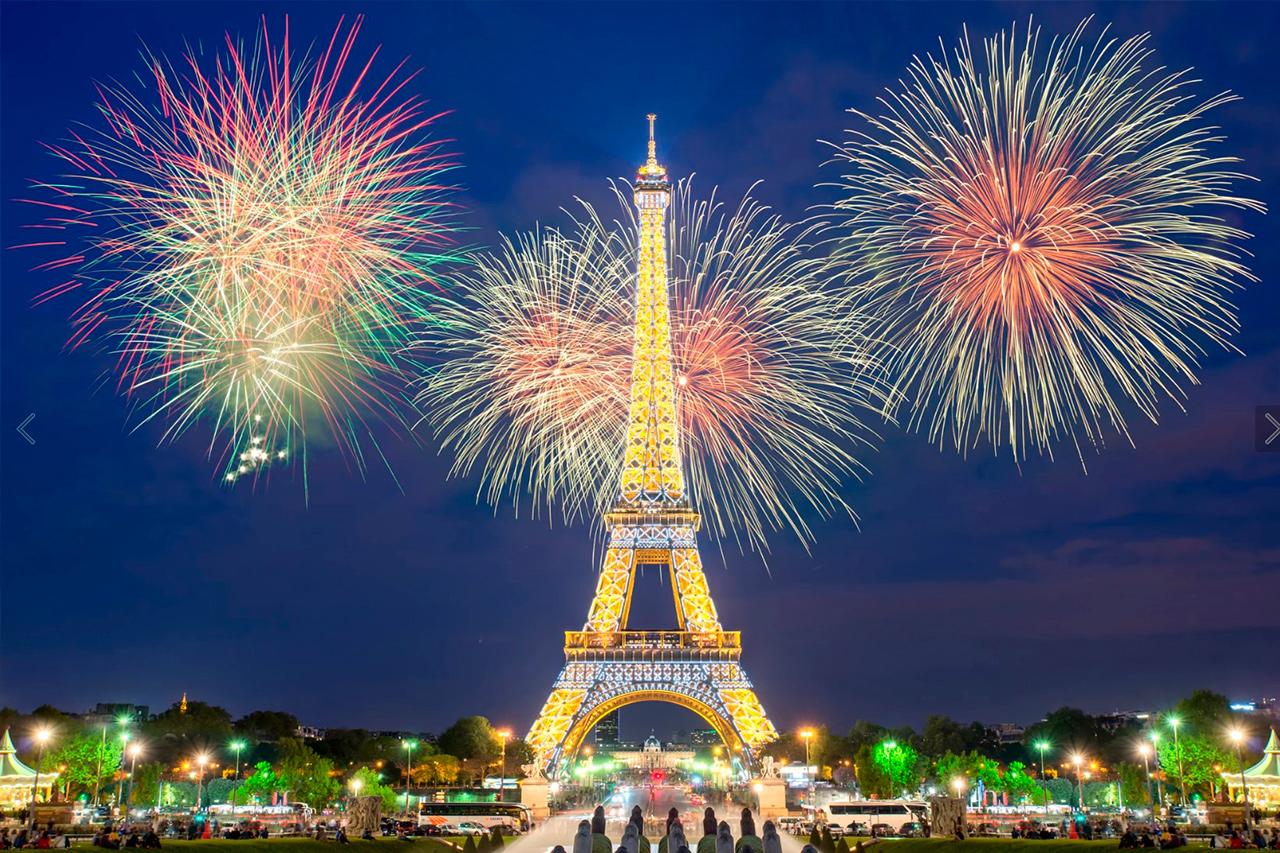 Новый год в сердце Европы