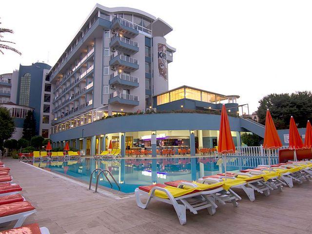 Турция, KRIZANTEM BEACH HOTEL 4*, Инжекум-Алания