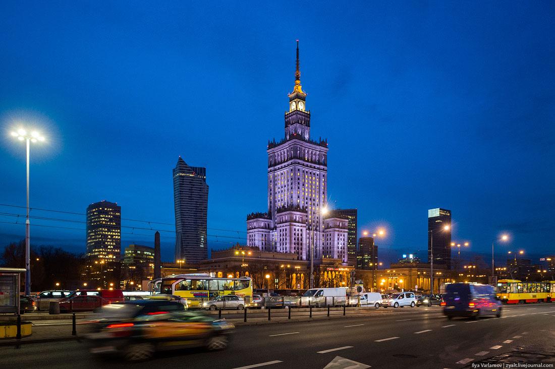 Варшаву можно полюбить!