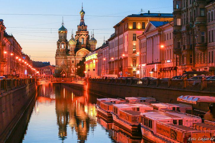 Санкт-Петербург на поезде из Минска
