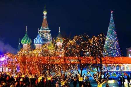Новый год под бой курантов (2019 в Москве)