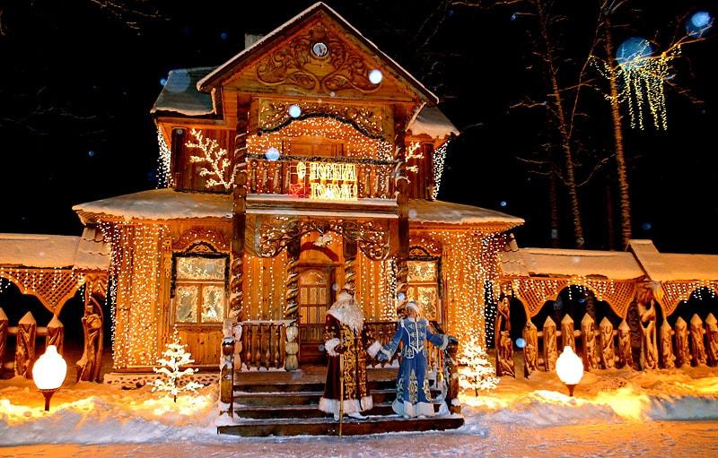 Путешествие в резиденцию Деда Мороза