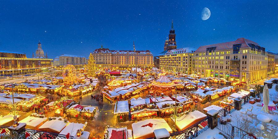 Новый год в Берлине и Дрездене 2020