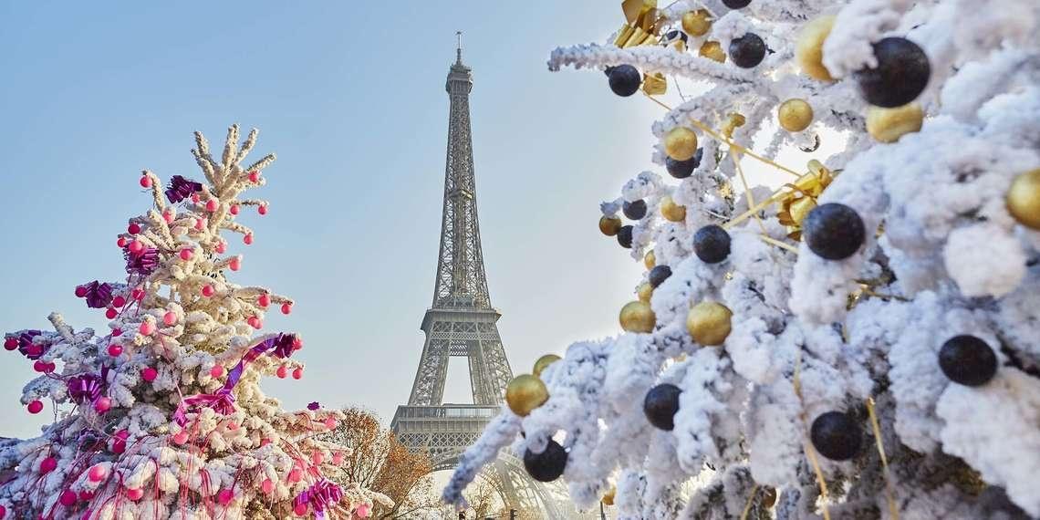Новый год в Париже 2020