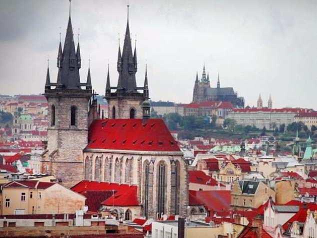 Вена-Прага без ночных переездов