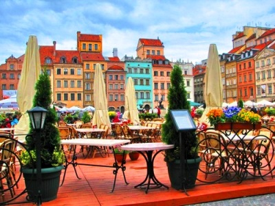 Варшава - без ночных переездов