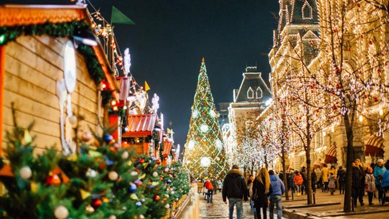 Новый год в Москве 2020!