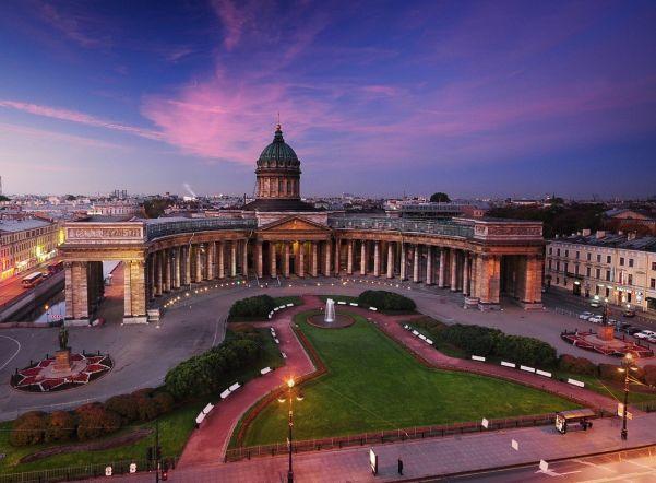 Санкт-Петербург из Полоцка, Минска