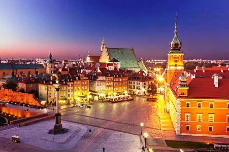 Новый год в Варшаве!