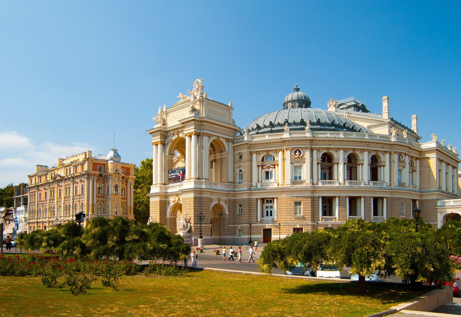 Солнечные выходные в Одессе