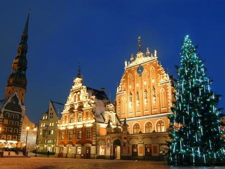 Рождественский тур Рига-Юрмала-Рундальский дворец