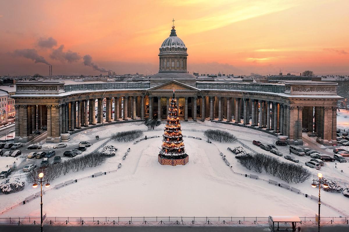 Тур на Новый год 2019 в Санкт-Петербург из Витебска, Орши, Могилева