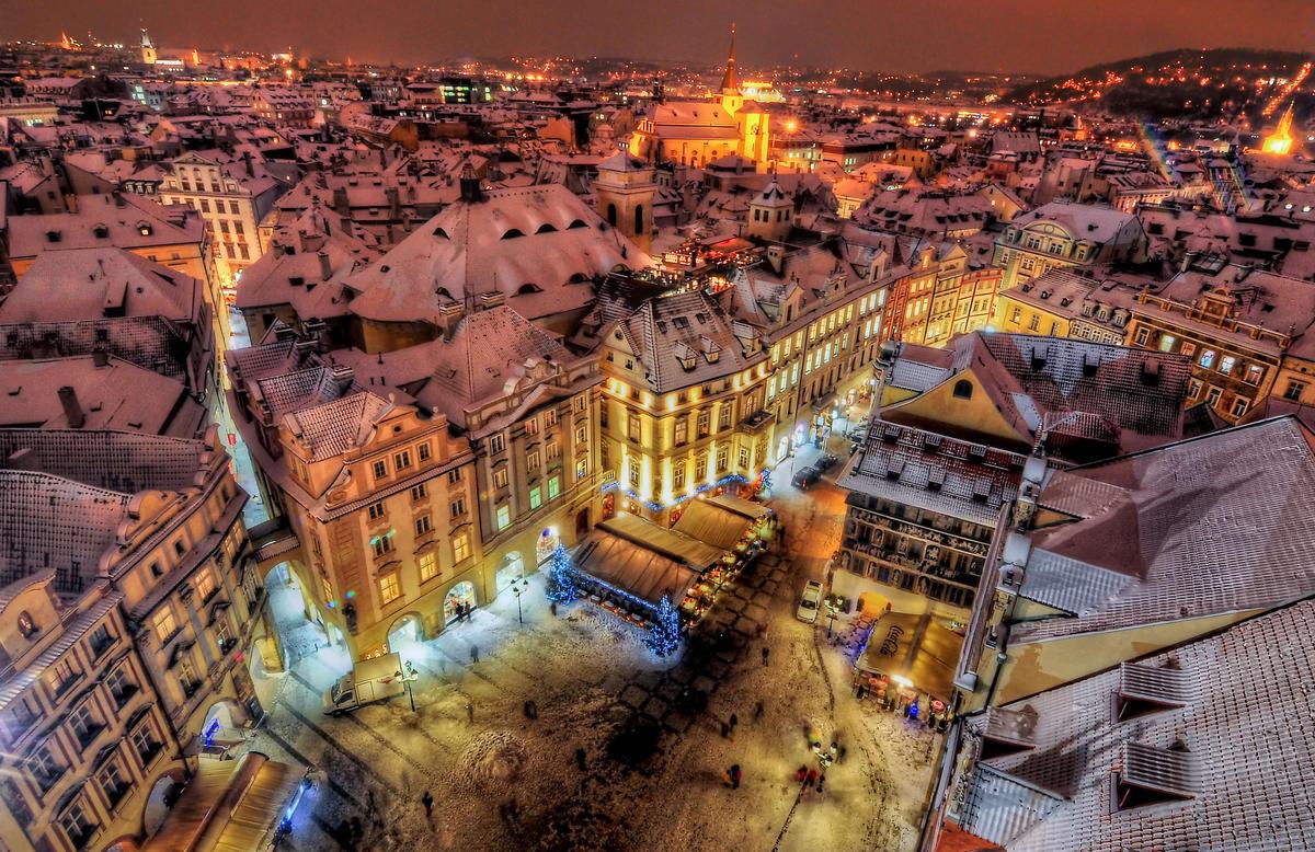 Рождество в Праге Стандарт, 7 дней / без ночных