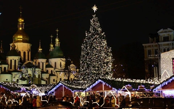 Встреча Нового года в Киеве!
