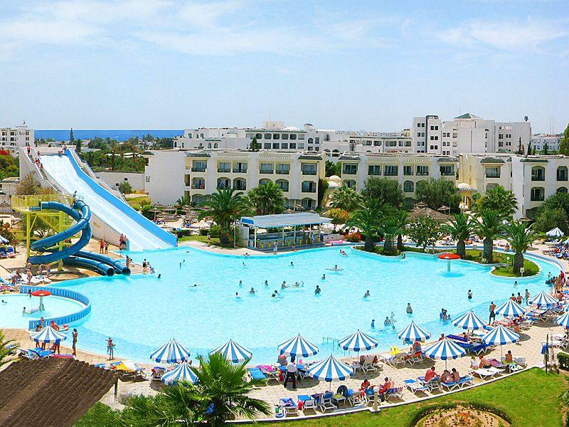 Тунис, Palmyra Aqua Park El Kantaoui Blue Star Hotel 3*, Порт-Эль-Кантауи