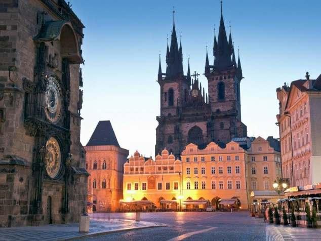 Чехия+Польша без ночных переездов