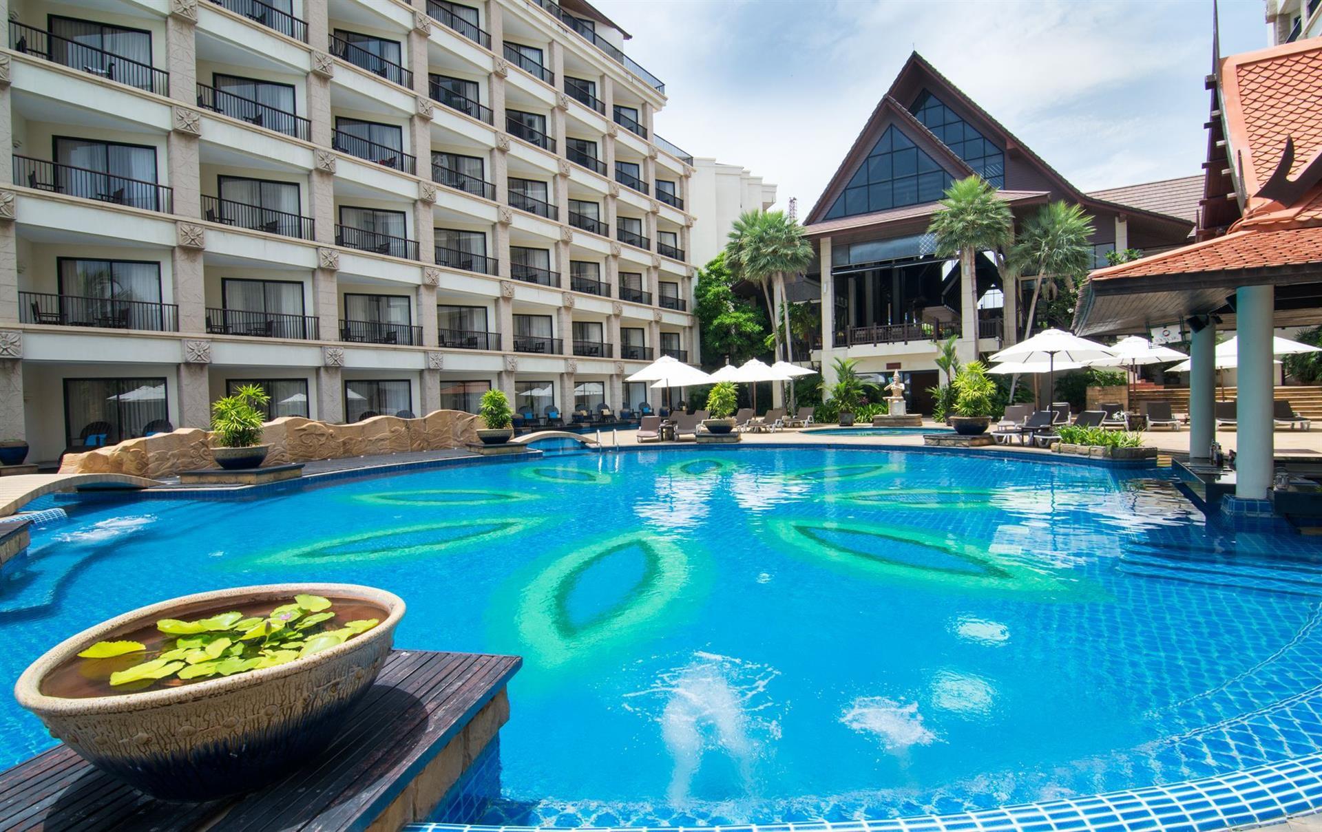 Таиланд, Garden Cliff Resort & Spa 5 *, Паттайя
