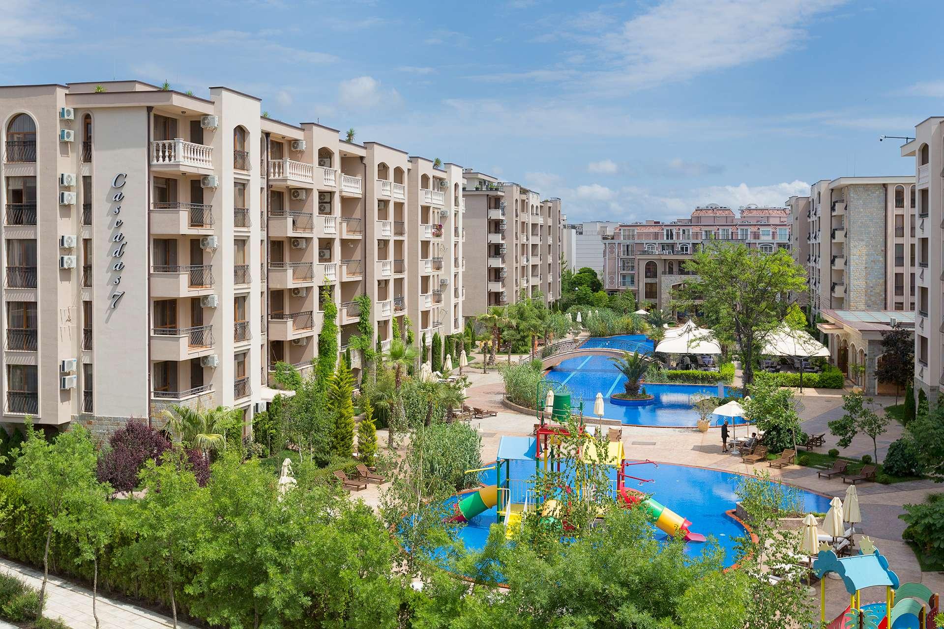 Болгария, Cascadas Family Resort 4*, Солнечный берег