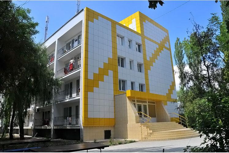 Бердянск, Азовское море, Санаторий АРКТИКА