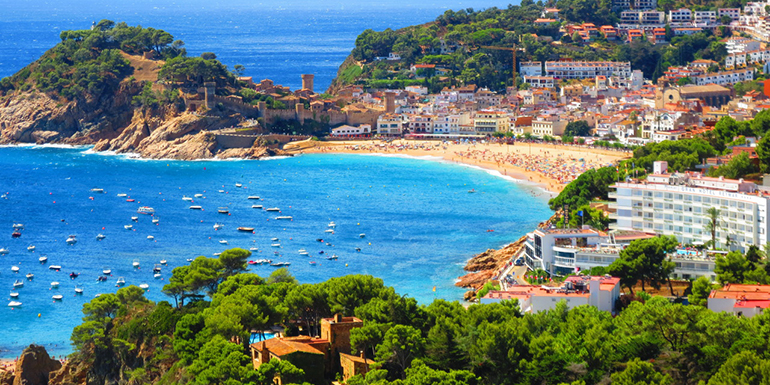 SP1 Гранд Тур + отдых в Испании 2018